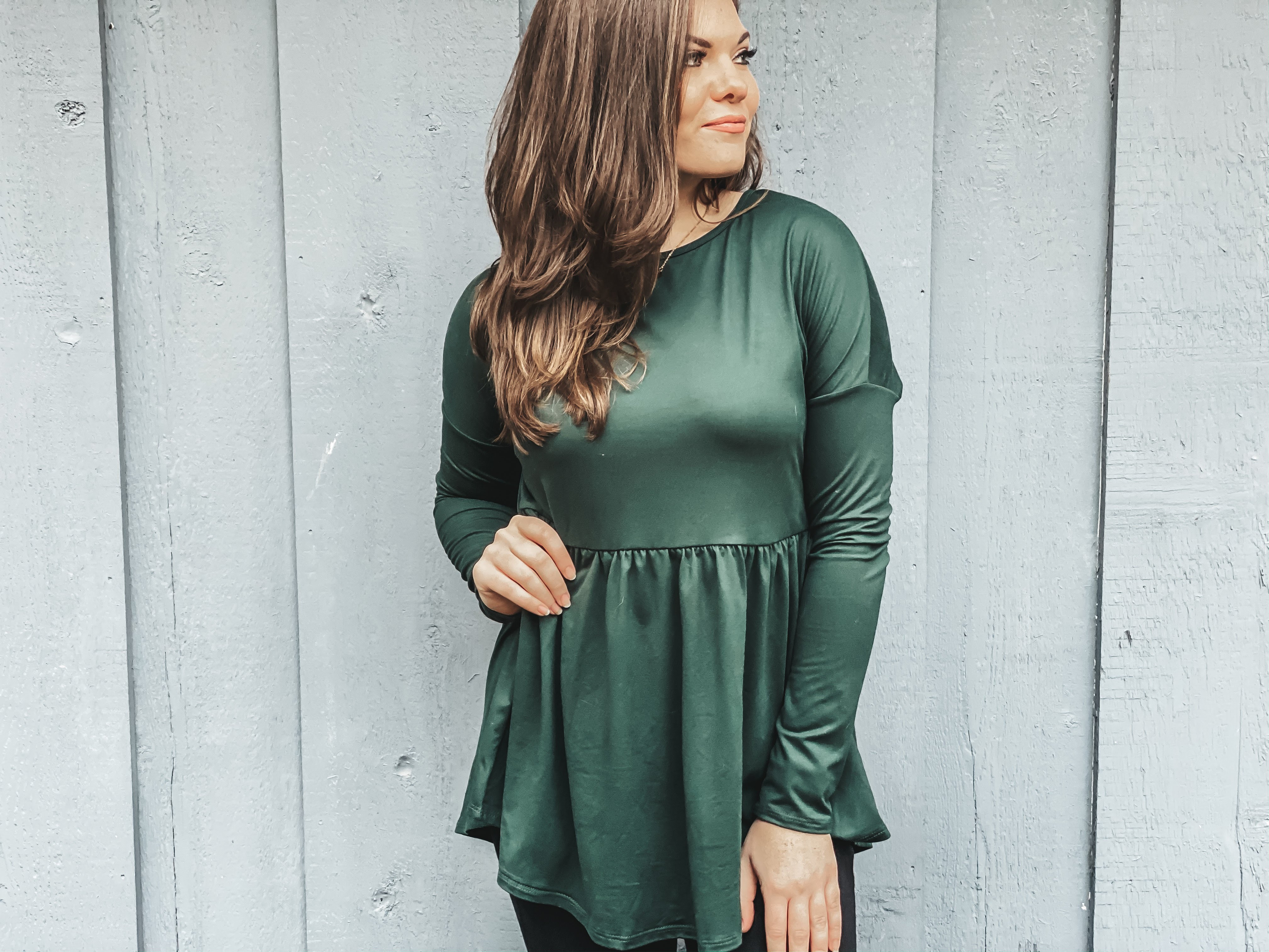 Gemstone Boutique Emerald Blouse