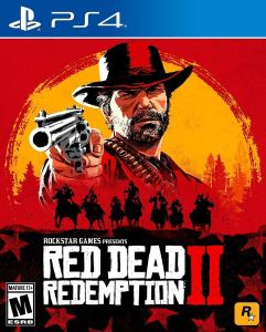 Red Dead Redemption 2 Video Game PS4