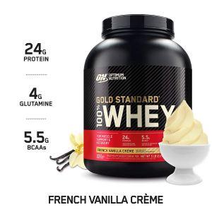 Optimum Nutrition Gold Standard Whey French Vanilla Creme Protein Powder
