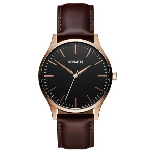 MVMT Watches The 40 Rose Gold Brown Watch